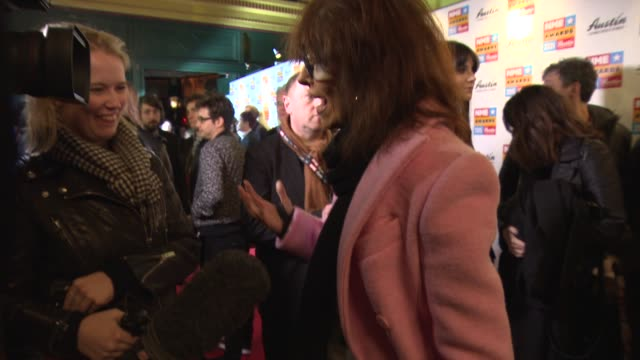 chrissie hynde at nme awards with austin, texas at o2 academy brixton on february 18, 2015 in london, england. - chrissie hynde stock videos & royalty-free footage