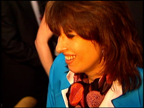 Chrissie Hynde at the 'GI Jane' Premiere at the Mann Village Theatre in Westwood California on August 6 1997