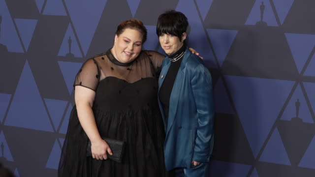 chrissy metz and diane warren at the 2019 governors awards on october 26 2019 in hollywood california - diane warren stock videos & royalty-free footage