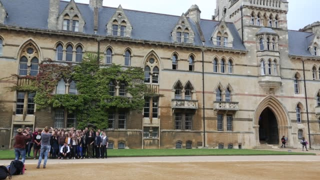 Christ Church College, Oxford University, Oxford, UK.