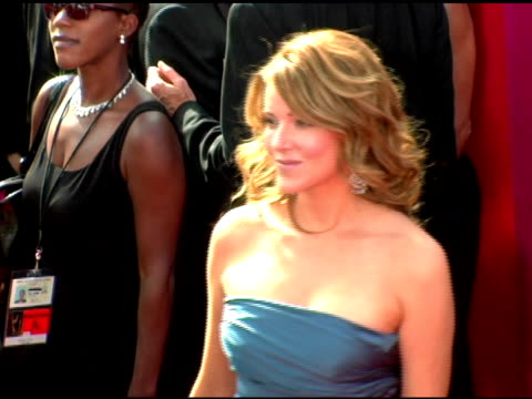 christa miller at the 2005 emmy awards at the shrine auditorium in los angeles, california on september 18, 2005. - shrine auditorium stock videos & royalty-free footage