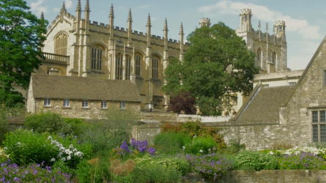 christchurch college,memorial garden,zo, - 宅地点の映像素材/bロール