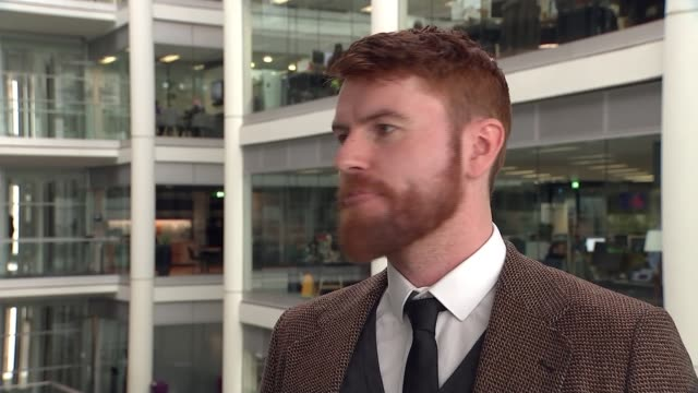 Social media firms under fire after livestreaming of attack ENGLAND London GIR INT Dr Ciaran Gillespie set up shots with reporter / interview SOT...
