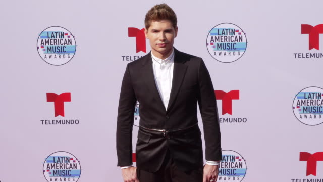 christian acosta at the latin american music awards 2019 at dolby theatre on october 17 2019 in hollywood california - the dolby theatre video stock e b–roll