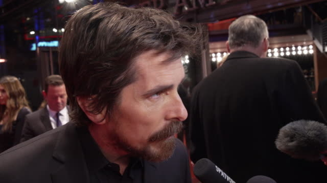 christian bale, actor, on his love of the director adam mckay, how adam makes historical stories entertaining and humorous and how he feels to have... - dick cheney stock videos & royalty-free footage