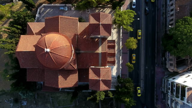 christian church view from the air