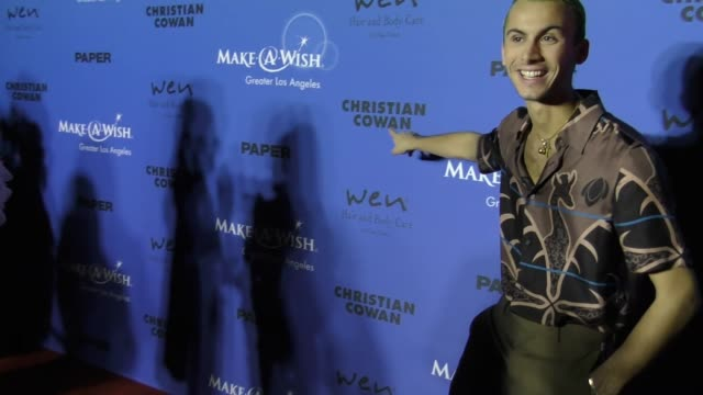 Christian Cowan at the PAPER Magazine Runway Benefit For MakeAWish Foundation on October 24 2017 in Los Angeles California