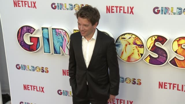 """christian ditter at the """"girlboss"""" los angeles premiere at arclight cinemas on april 17, 2017 in hollywood, california. - arclight cinemas hollywood stock-videos und b-roll-filmmaterial"""