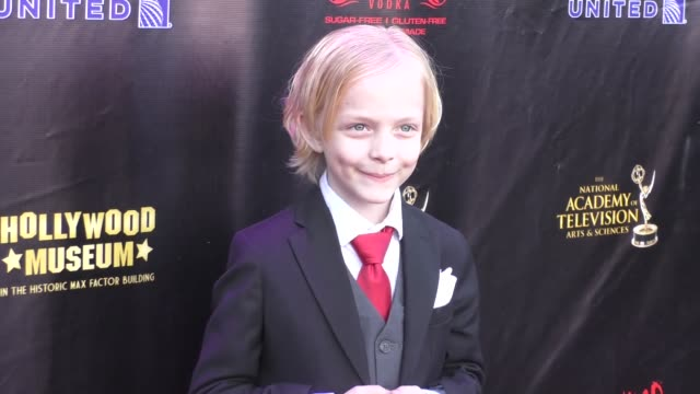 Christian Ganiere at the 2016 Daytime Emmy Awards Nominees Reception at The Hollywood Museum in Hollywood in Celebrity Sightings in Los Angeles