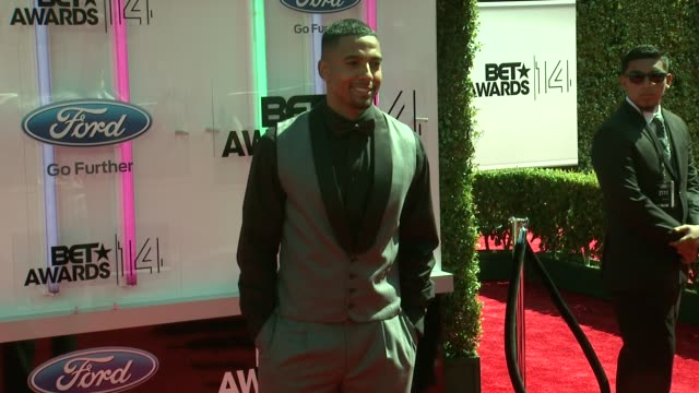 christian keyes at the 2014 bet awards on june 29 2014 in los angeles california - bet awards stock videos and b-roll footage