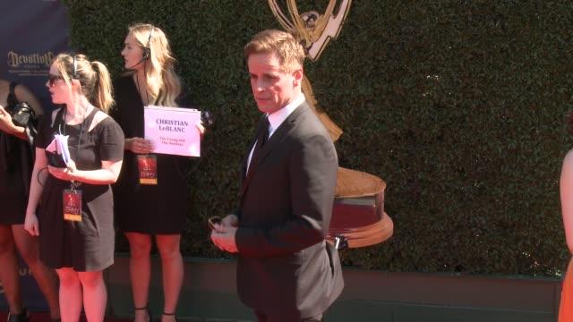Christian LeBlanc at the 44th Annual Daytime Emmy Awards at Pasadena Civic Auditorium on April 30 2017 in Pasadena California
