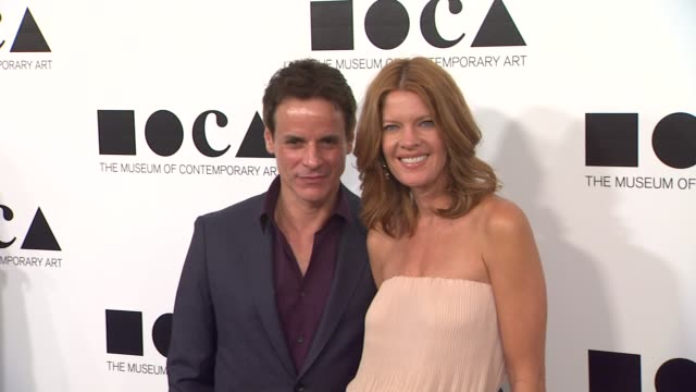 christian leblanc michelle stafford at the the museum of contemporary art los angeles presents the annual moca gala at los angeles ca - los angeles museum of contemporary art stock videos and b-roll footage