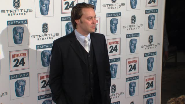 christian mckay at the bafta la's 16th annual awards season tea party at beverly hills ca - bafta la tea party stock videos and b-roll footage