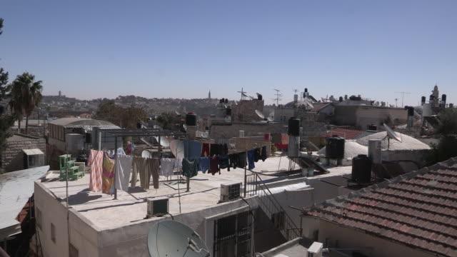 Christian Quarter Rooftops, Jerusalem, Israel