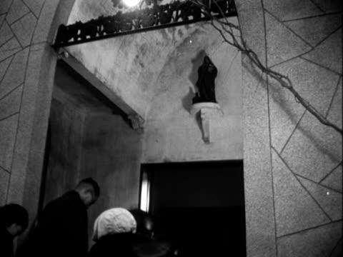 christian religious services - anno 1958 video stock e b–roll