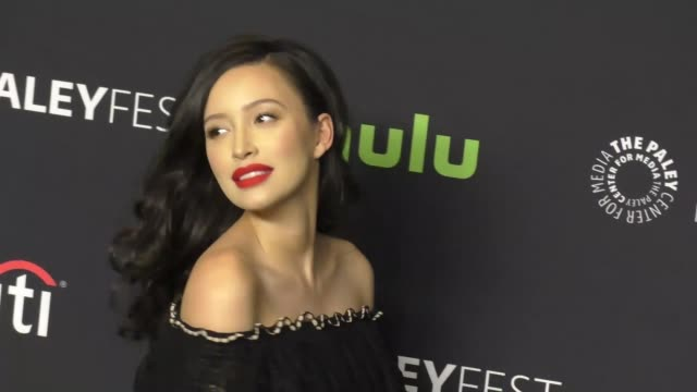 Christian Serratos at PaleyFest Los Angeles 2017 'The Walking Dead' at Dolby Theatre on March 18 2017 in Hollywood California