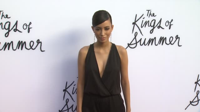 Christian Serratos at The Kings Of Summer Los Angeles Premiere on 5/28/2013 in Hollywood CA