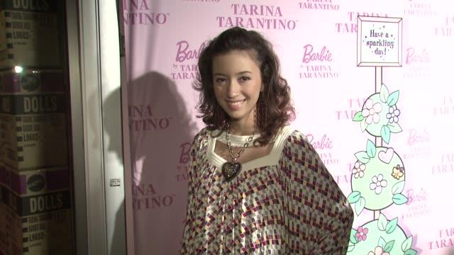 Christian Serratos at the Tarina Tarintino Barbie Doll Launch @ Tarina Tarintino at Los Angeles California