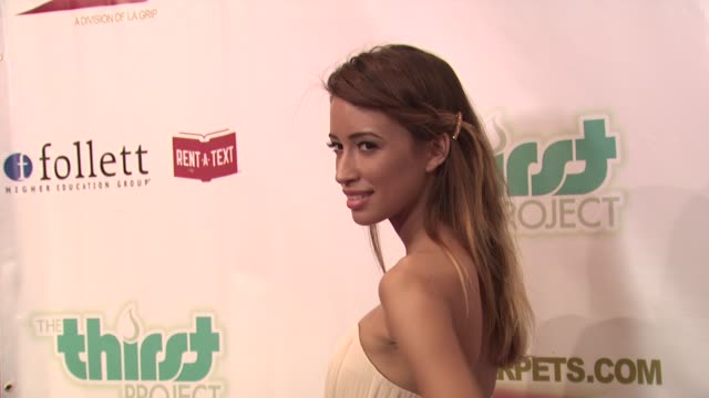 Christian Serratos at the The 2nd Annual Thirst Project Gala at Beverly Hills CA