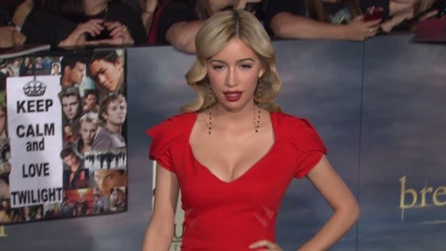 Breaking Dawn Part Two Los Angeles Premiere on 11/12/12 in Los Angeles CA