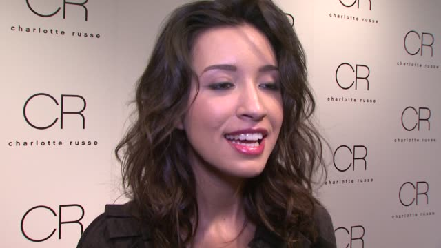 Christian Serratos on being out tonight and why she loves Charlotte Russe On shooting the Twilight sequel how she doesn't think about all of the...