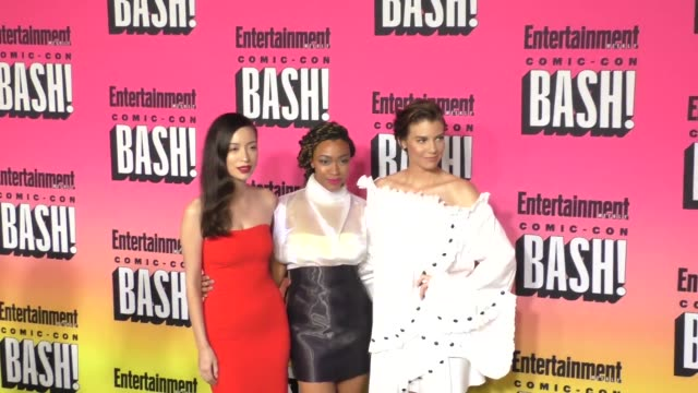 Christian Serratos Sonequa Martin and Lauren Cohan at Entertainment Weekly Hosts Annual ComicCon Celebration at Float at Hard Rock Hotel San Diego on...
