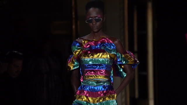 christian siriano september 2019 nyfw at nyc gotham hall on september 07 2019 in new york city - new york fashion week stock videos & royalty-free footage