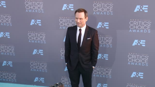christian slater at 21st annual critics' choice awards in los angeles ca - christian slater stock videos & royalty-free footage