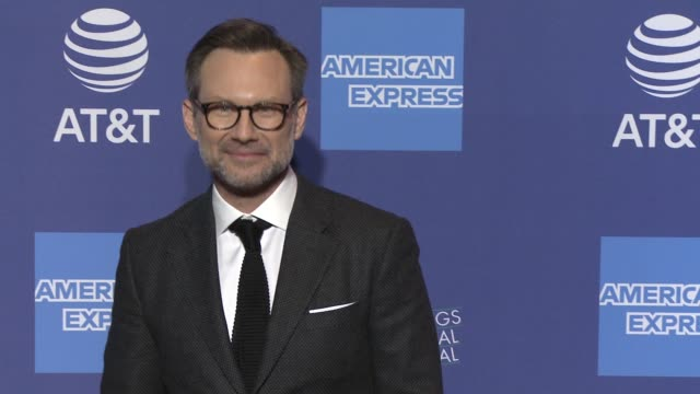 christian slater at 30th annual palm springs international film festival film awards gala in palm springs ca - christian slater stock videos & royalty-free footage