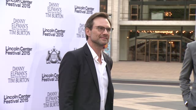 christian slater at 'danny elfman's music from the films of tim burton' 2015 lincoln center festival opening night at josie robertson plaza at... - christian slater stock videos & royalty-free footage