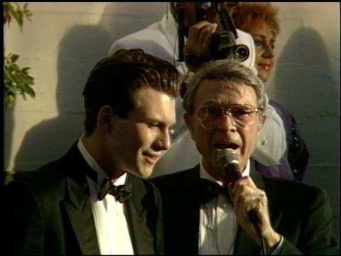 christian slater at the 1991 academy awards at the shrine auditorium in los angeles california on march 25 1991 - christian slater stock videos & royalty-free footage