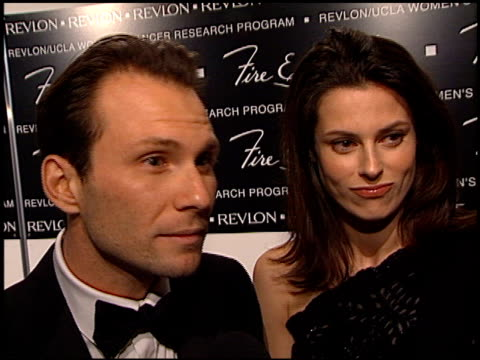 christian slater at the 2000 fire and ice ball at the beverly hilton in beverly hills california on december 11 2000 - christian slater stock videos & royalty-free footage