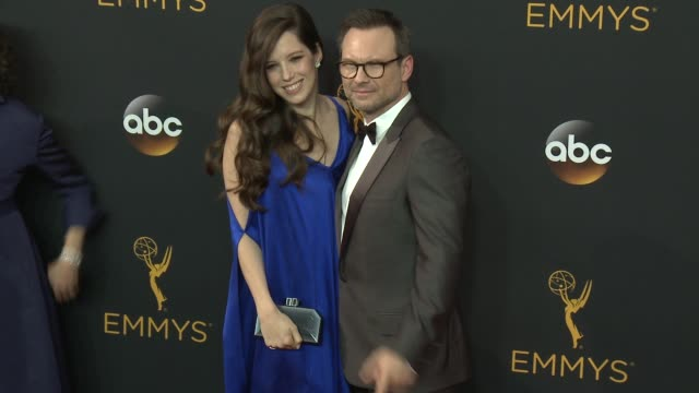 christian slater at the 68th annual primetime emmy awards arrivals at microsoft theater on september 18 2016 in los angeles california - christian slater stock videos & royalty-free footage