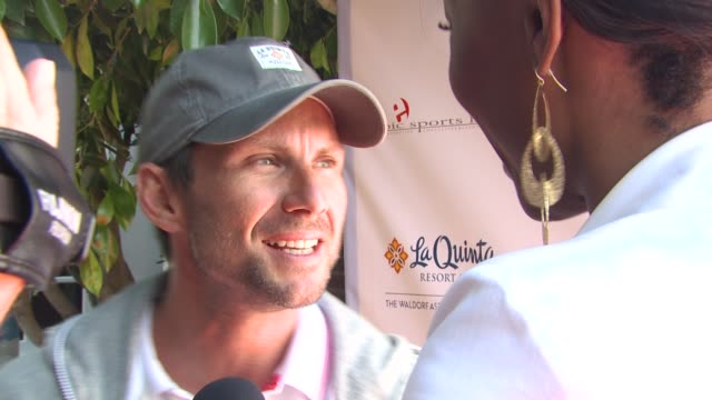 Christian Slater at the 6th Annual KSwiss Desert Smash at La Quinta CA