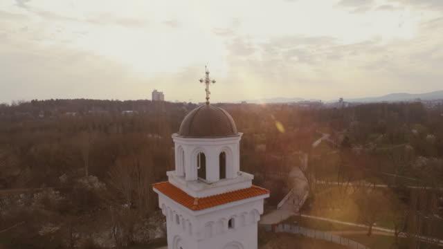 キリスト教教会 - キリスト教点の映像素材/bロール