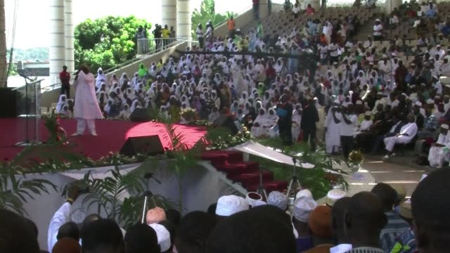 christians and muslims are staging a joint prayer gathering in ivory coast this weekend to foster reconciliation in a nation still riven by ethnic... - côte d'ivoire stock videos & royalty-free footage