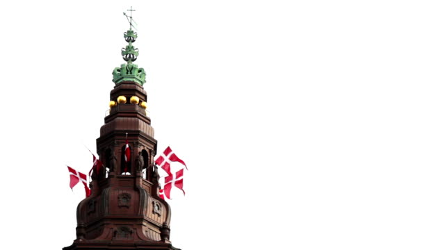 stockvideo's en b-roll-footage met christiansborg palace - parliament building