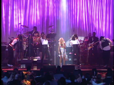 christina aguilera at the legendary clive davis pregrammy party at beverly hills california - christina aguilera stock videos & royalty-free footage