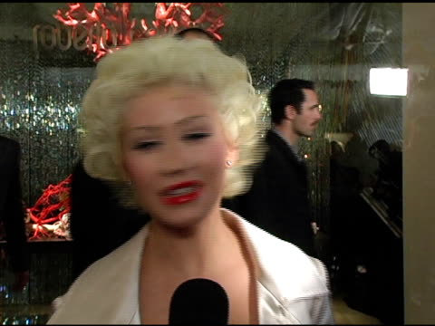christina aguilera at the unveiling of roberto cavalli's beverly hills location at roberto cavalli boutique in los angeles california on february 15... - christina aguilera stock videos & royalty-free footage