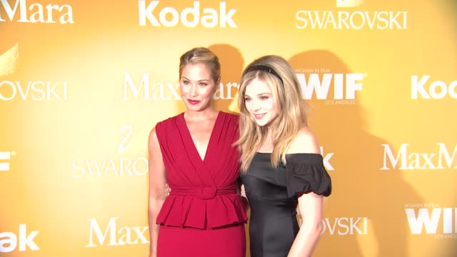 christina applegate and chloe grace moretz at 2012 women in film crystal lucy awards christina applegate and chloe grace moretz at 2012 at the... - the beverly hilton hotel stock videos & royalty-free footage