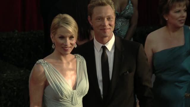christina applegate at the 16th annual screen actors guild awards arrivals at los angeles ca - 映画俳優組合点の映像素材/bロール