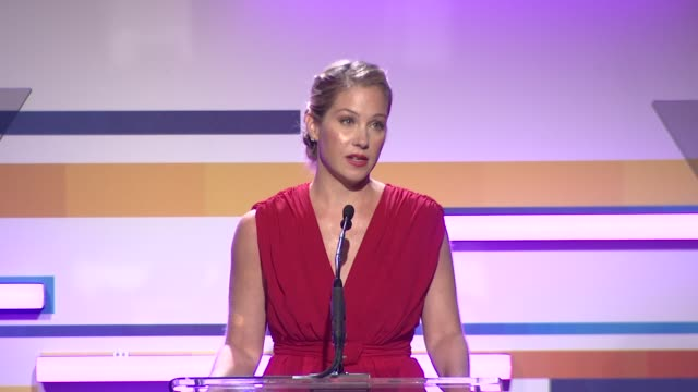 christina applegate at the 2012 women in film crystal lucy awards speech christina applegate at the 2012 women in f at the beverly hilton hotel on... - the beverly hilton hotel stock videos & royalty-free footage