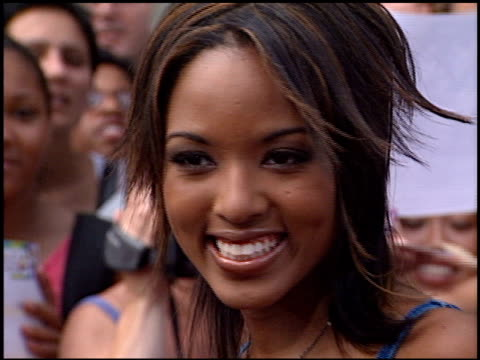 Christina Christian at the American Idol Finale at the Kodak Theatre in Hollywood California on September 4 2002