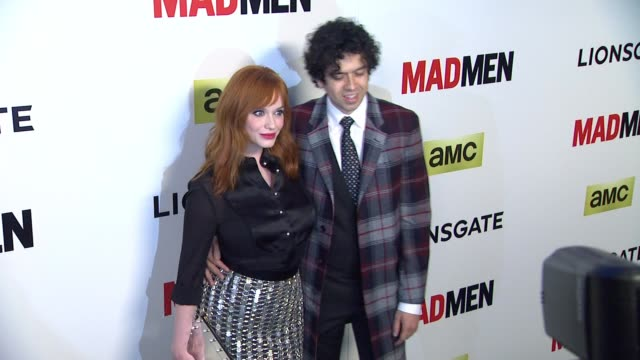 vidéos et rushes de christina hendricks at the mad men season seven los angeles premiere at arclight cinemas on april 02 2014 in hollywood california - arclight cinemas hollywood