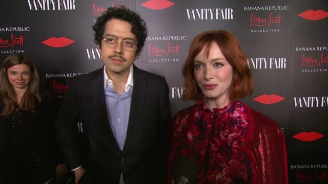 interview christina hendricks on what brings her out and what she loves about the collection also talks about how it feels to be filming the last... - christina hendricks stock videos and b-roll footage