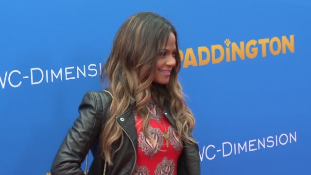 christina milian at 'paddington' los angeles premiere at arclight cinemas cinerama dome on january 10 2015 in hollywood california - arclight cinemas hollywood video stock e b–roll