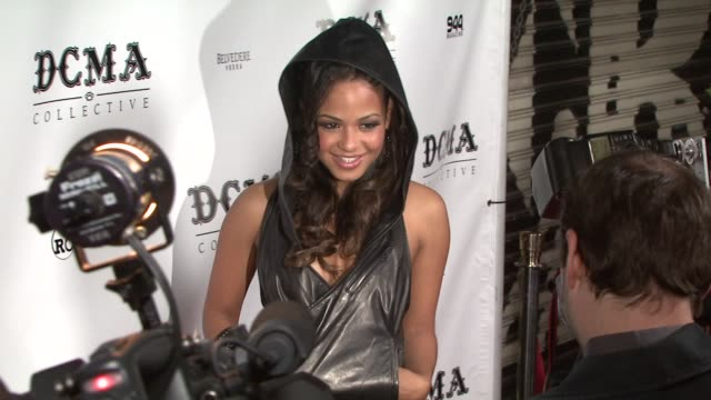 Christina Milian at the DCMA Collective Celebrates Grand Opening of Flagship Store on March 15 2008