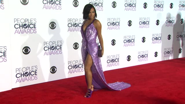 Christina Milian at the People's Choice Awards 2016 at Nokia Plaza LA LIVE on January 6 2016 in Los Angeles California