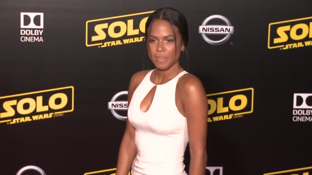 """christina milian at the """"solo: a star wars story"""" world premiere at the el capitan theatre on may 10, 2018 in hollywood, california. - el capitan theatre stock videos & royalty-free footage"""