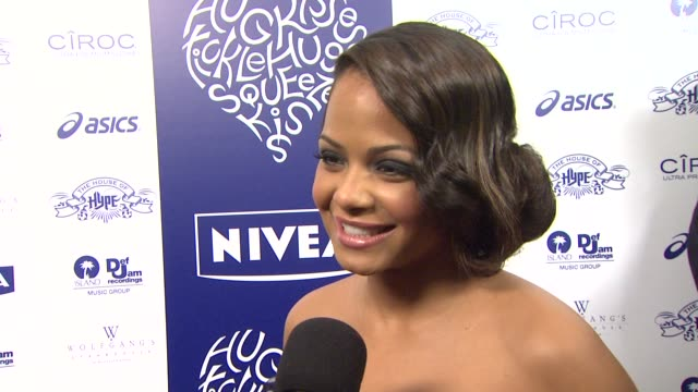 Christina Milian on being both a hugger and kisser talks about her favorite type of kisses to give if she will be kissing anyone on Valentines Day...